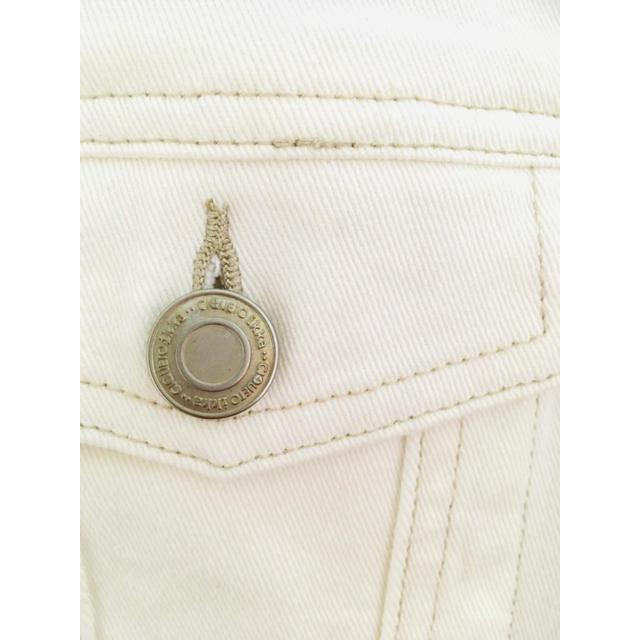 ikka(イッカ)の☆ikka☆ホワイトデニムジャケット☆新品未使用 レディースのジャケット/アウター(Gジャン/デニムジャケット)の商品写真
