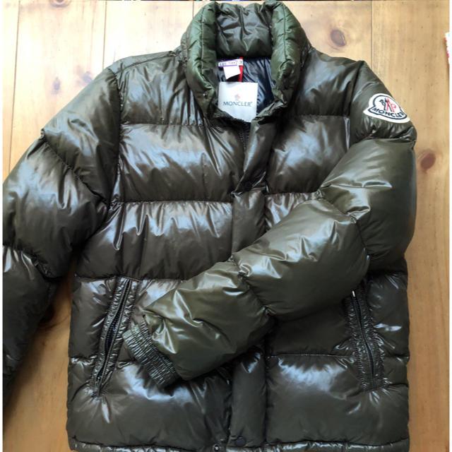 MONCLER(モンクレール)の【国内正規品】モンクレール エベレスト ブラウン サイズ1 メンズのジャケット/アウター(ダウンジャケット)の商品写真