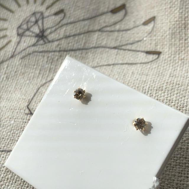 4℃(ヨンドシー)の25日まで値下げ! ダイヤモンド ピアス レディースのアクセサリー(ピアス)の商品写真