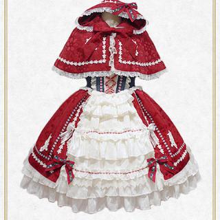 BABY,THE STARS SHINE BRIGHT - おとぎの国の赤ずきんちゃんジャンパースカート BABY