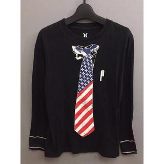 ハーレー(Hurley)のハーレー Hurley サーファー ロンT カットソー ネクタイ Tシャツ(Tシャツ/カットソー(七分/長袖))