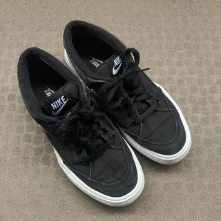 NIKE - NIKE スニーカー 靴 黒 24