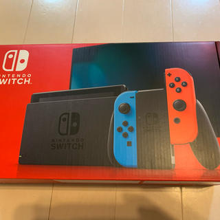 Nintendo Switch - 速発送 ニンテンドースイッチ本体 ネオンブルー新品未使用