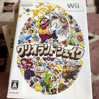 Wii - ワリオランドシェイク Wii 中古