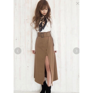 RESEXXY - RESEXXY*定価¥8,789!レイヤードラップフレアスカート 新品