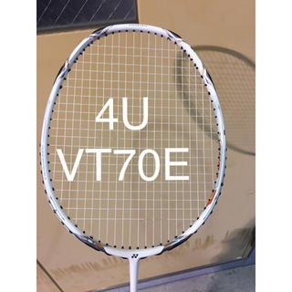 YONEX - Yonex ヨネックス バドミントンラケット ボルトリック70eチューン 4U