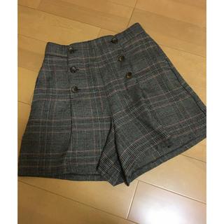 ウィゴー(WEGO)のWEGO キュロットスカート ショートパンツ フリーサイズ(キュロット)