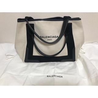 BALENCIAGA BAG - BALENCIAGA バレンシアガ NAVYCABA Sサイズ