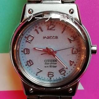 CITIZEN - 5. CITIZEN シチズンWICCA ウィッカ ソーラー時計 レディース
