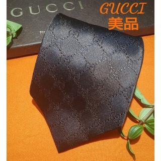 Gucci - ☆美品【期間限定】グッチ GUCCI GG柄 最高級シルクネクタイ