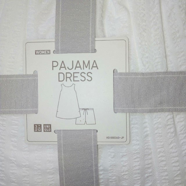UNIQLO(ユニクロ)のユニクロ パジャマドレス レディースのルームウェア/パジャマ(パジャマ)の商品写真