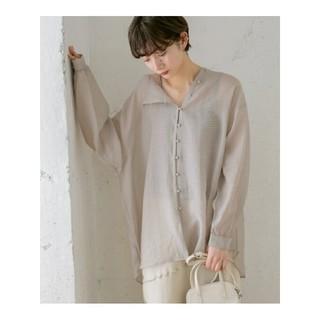 KBF - KBF シースルーアシンメトリーシャツ  ◆新品未開封