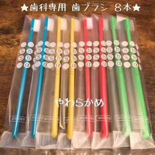 【歯科専用】歯ブラシ(やわらかめ) 8本セット♡ 《日本製》