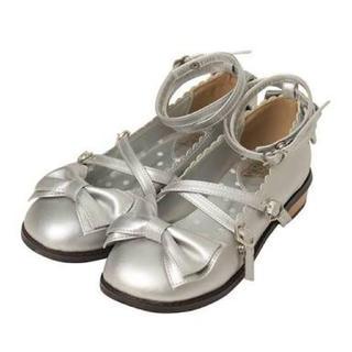 Angelic Pretty - 【限定値引】Tea Party ShoesシルバーLサイズ