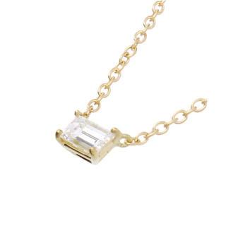 AHKAH - AHKAH アーカー ソルティアスタビー ネックレス k18 ダイヤモンド