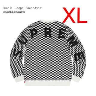 Supreme - Back Logo Sweater XL