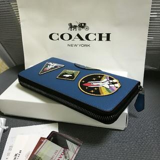 COACH - YKK製ファスナー COACH 長財布 アウトレット商品10846