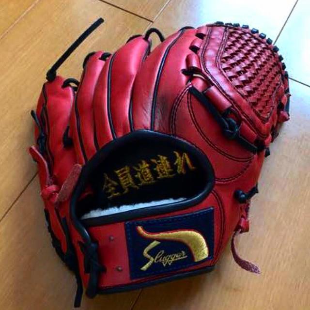 スラッガーグローブ スポーツ/アウトドアの野球(グローブ)の商品写真