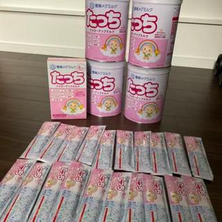 ユキジルシメグミルク(雪印メグミルク)の粉ミルクたっち スタイ3枚おまけ付き(その他)