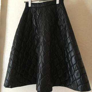 ルシェルブルー(LE CIEL BLEU)のルシェルブルー ダウンのような ♡ スカート(ロングスカート)