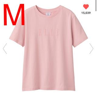 GU - gu elle ピンク Tシャツ