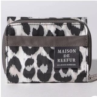 Maison de Reefur - メゾンドリーファー×レスポートサック レオパード柄 三つ折財布