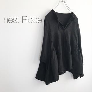 nest Robe - ★ネストローブ★ドルマンスリーブリネンブラウス シャツ