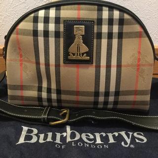 BURBERRY - Burberry ノバチェック 希少 ショルダーバッグ ポシェット 極美品 レア