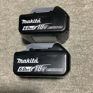 マキタ(Makita)のマキタ純正バッテリー 18v6Ah 2個セット 雪印(バッテリー/充電器)