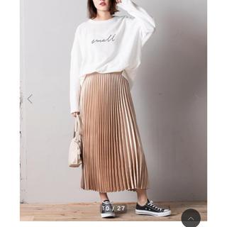 fifth - 新品♡シャイニーロングプリーツスカート