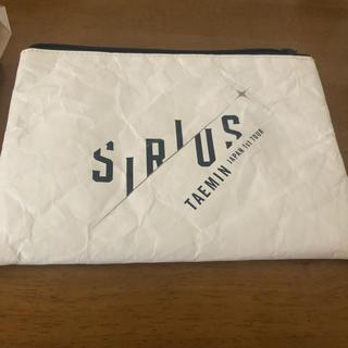 シャイニー(SHINee)のTAEMIN Sirius ポーチ(アイドルグッズ)