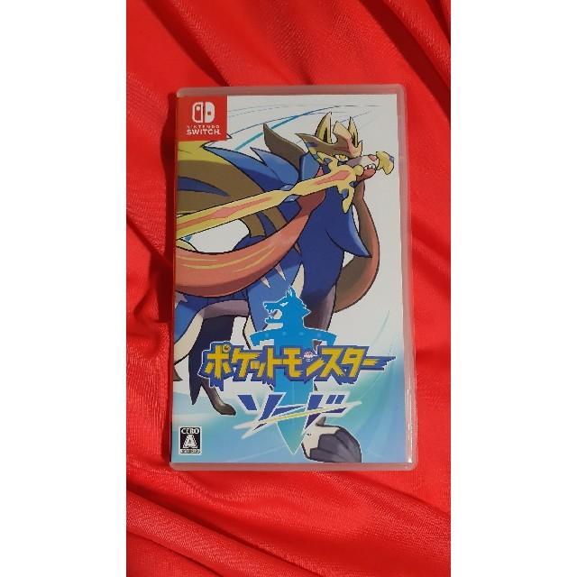 任天堂(ニンテンドウ)のポケットモンスター ソード Switch スイッチ エンタメ/ホビーのゲームソフト/ゲーム機本体(家庭用ゲームソフト)の商品写真
