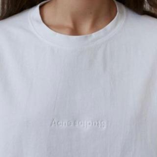 アクネ(ACNE)のAcne Studios / Cylea Emboss white Tee(Tシャツ(半袖/袖なし))