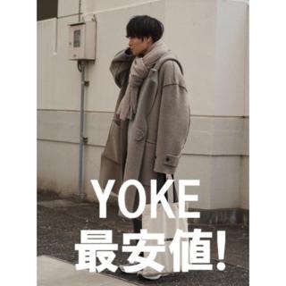 SUNSEA - 【本日のみ価格!】YOKE 7G Milano Rib Hooded Coat