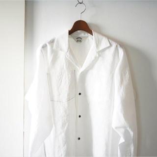 SUNSEA - SUNSEA linen gigolo shirt size2