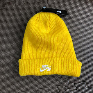 NIKE - NIKE  SB ニット帽 ビーニー 黄色