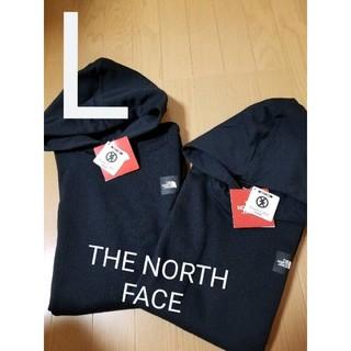 THE NORTH FACE - 新品 タグ付き ノースフェイス ロゴ フーディー 1点