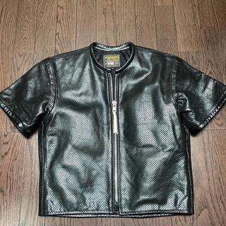 VANSON - 【 VANSON 】 USA製半袖レザージャケット