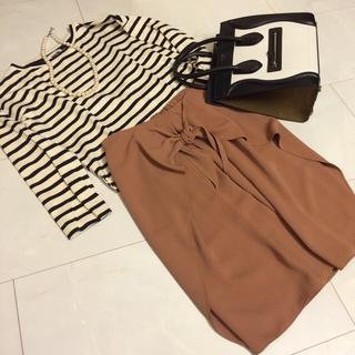 デミルクスビームス(Demi-Luxe BEAMS)のデミルクスBEAMS スカート(ひざ丈スカート)