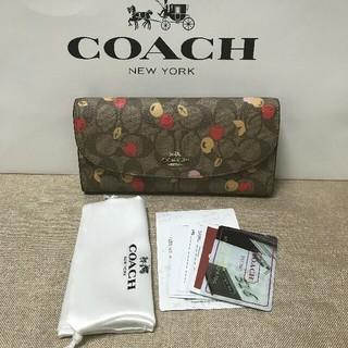 COACH - Coach☆シグネチャー PVC レザー 長財布 国内発送F31562