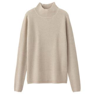 GU - GUラメリブハイネックセーター♡ジーユー薄手セーター