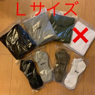 wtaps 20ss skivvies  Tシャツ Lサイズ SOX バラ売り