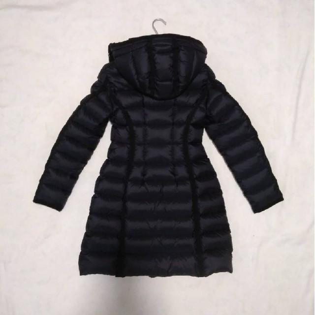 MONCLER(モンクレール)の[新品同様タグ付] モンクレール HERMINE エルミンヌ ブラック サイズ0 レディースのジャケット/アウター(ダウンコート)の商品写真