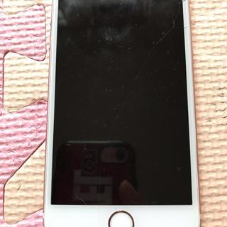 SIMフリー iPhone6S  64GB ローズゴールド バッテリー100%(スマートフォン本体)