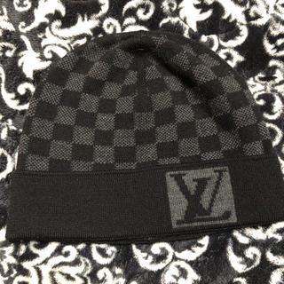 ルイヴィトン(LOUIS VUITTON)のLOUIS VUITTON ニット帽(ニット帽/ビーニー)