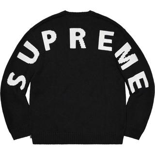 Supreme - Supreme Back Logo Sweater M
