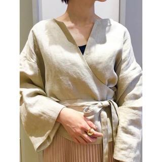 IENA - JANE SMITH カシュクールトップス