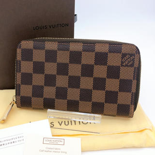 LOUIS VUITTON - 新品同様 ルイヴィトン ジッピー ・ウォレット ダミエ 正規品