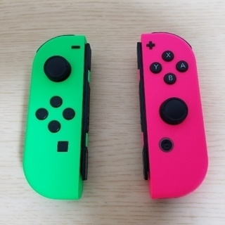 Nintendo Switch - Joy-Con ネオングリーン/ネオンピンク