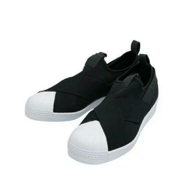 adidas(アディダス)のadidas スリッポン 24.5cm レディースの靴/シューズ(スリッポン/モカシン)の商品写真